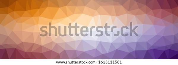 Abstract triangle geometrical background. Colors: blue violet, plum, royal purple, violet (purple), vivid violet.