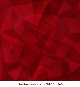 Abstract triangles background in magenta tones.Raster version.
