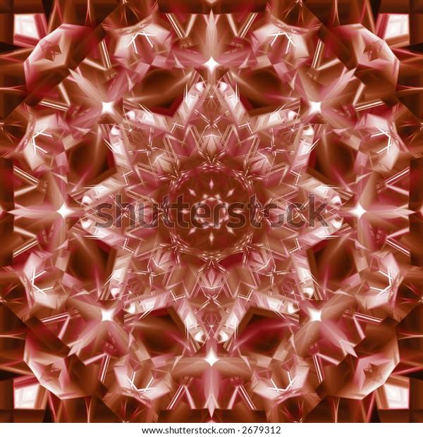 Abstract Tribal Tile