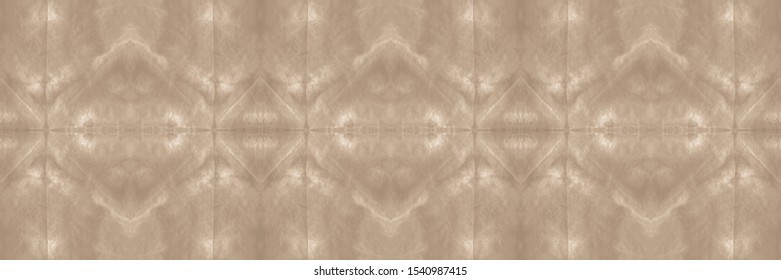 Abstract Turkish Stylized Backdrop. Brush Stroke Seamless Background. Graphics Painting. Washing Effect Patterns. Dynamic Style. Wintery Beige, Grey On Old Paper.