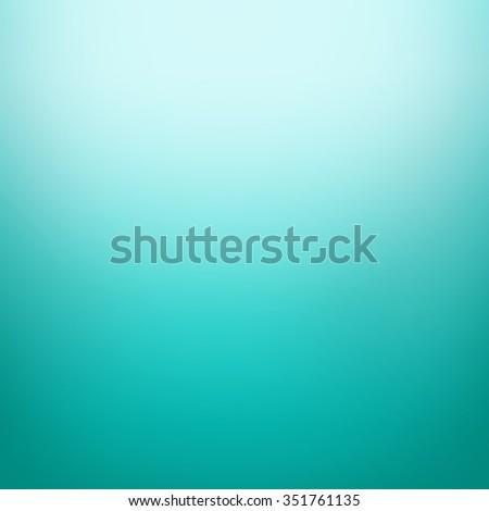 abstract turquoise color gradient dark border em ilustração stock