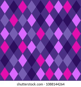 Abstract ultra violet seamless pattern. Design element for wallpaper, wrapping paper, textile prints and etc.