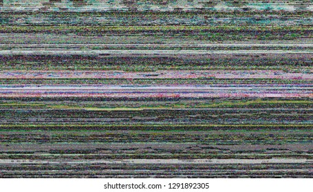Abstract Unique Design Glitch Digital Pixel Noise. Glitch Texture Error Video Damage. Tv damage broadcast glitch. Abstract technology background