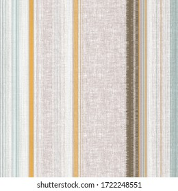 Abstract upholstery nature stripe jute print pattern design in natural linen tones. Simple, stylish, retro textures background. beauty  Pattern for Linen, Fabric, Wallpaper, rug, carpet, wall printing