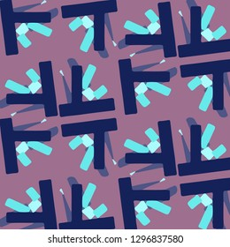 Abstract vector background. Colorful halftone illustration pattern
