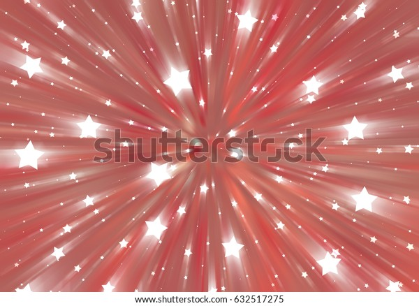 abstract vintage background. fractal explosion star with gloss and lines. illustration beautiful.