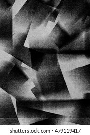 Abstract vintage noir texture background with geometric shapes