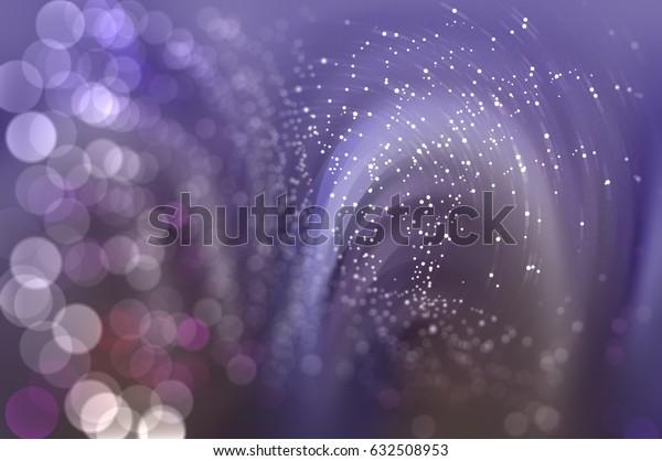 Abstract violet background defocused lights. elegant illustration