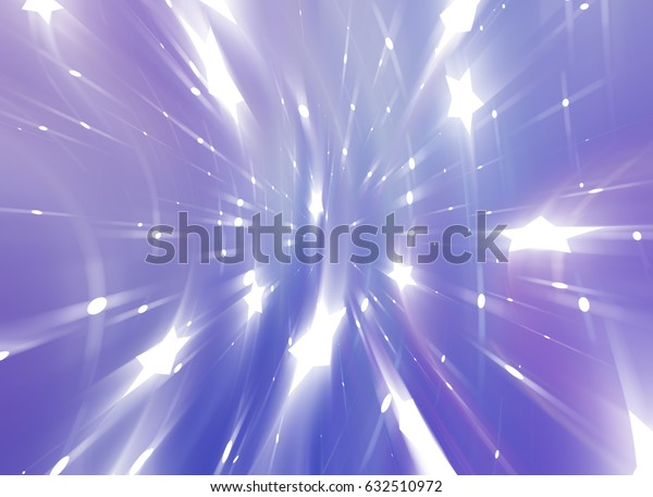 Abstract violet background. Explosion star. illustration digital.