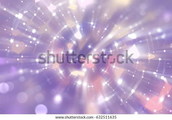 Abstract violet background. Explosion star. illustration digital.