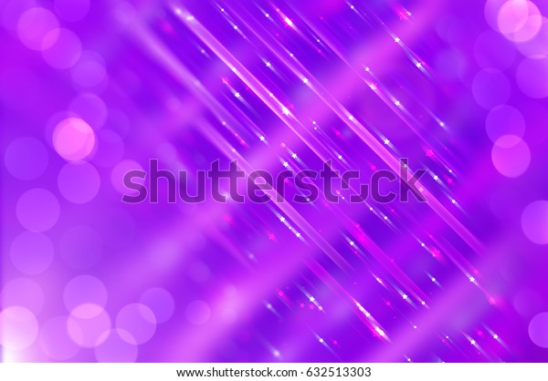 Abstract  violet background with various color lines and strips. illustration technology.