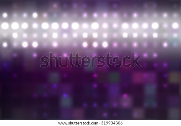 Abstract violet football or soccer backgrounds.Beautiful artistic flood lights