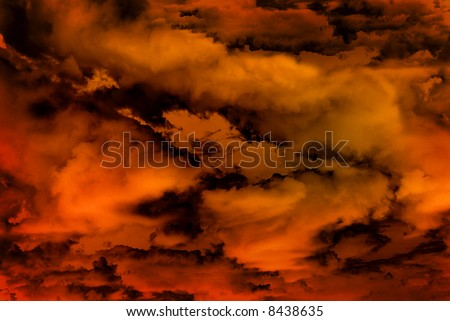 Abstract Vision Hell Background Texture Stock Illustration 8438635
