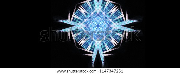Abstract vivid background art in illustration space geometry. Background consists of fractal multicolor texture and is suitable for use in projects on imagination, creativity and design.