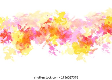 Abstract vivid color watercolor background