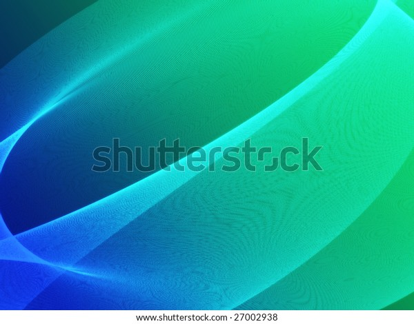 Abstract wallpaper illustration of wavy flowing energy and colors