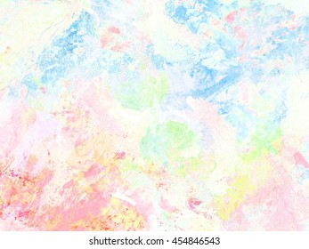 Abstract watercolor art . hand painted background.Hand Drawn textures. pastels colors.Abstract watercolor painting on grunge paper texture.