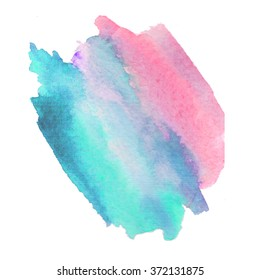 Abstract watercolor background. Ink illustration. Hand painted watercolor backgrounds. Watercolor washes.