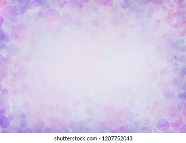 Abstract Watercolor Background - a light and arty background with watercolor paint splashes in attractive colors.