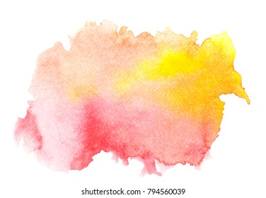 abstract watercolor background.art painted image