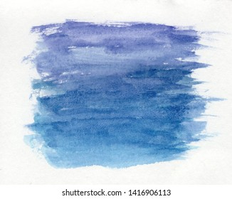 abstract watercolor brush strokes paper texture background