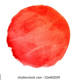 Abstract watercolor hand paint texture, isolated on white background
