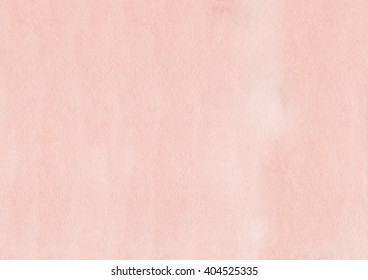 Abstract watercolor hand painted background. Pink watercolour texture. Pastel colored palette. Salmon color background.