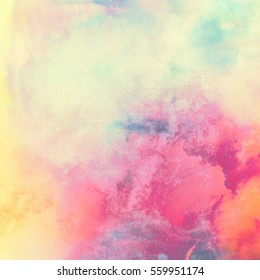 Abstract watercolor image. Colorful background