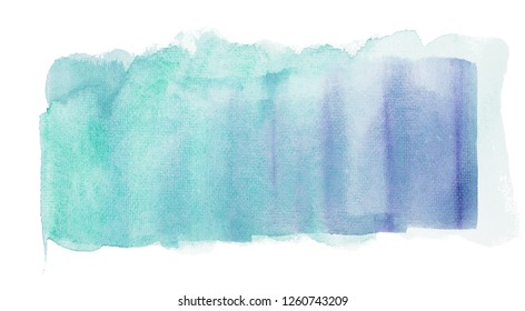 Abstract watercolor painting on white paper, Background, Texture