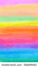 Abstract watercolor paper texture background colors.Design illustration image rainbow.