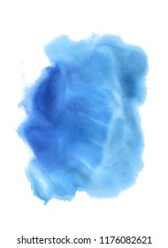 abstract watercolor splash, colorful, hand painted on a white background,