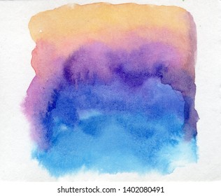 abstract watercolor stain on paper texture background