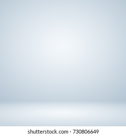 Abstract white gray with white gradient backdrop.used for display product