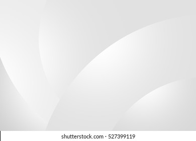 abstract white and grey background with smooth gradient radial blur
