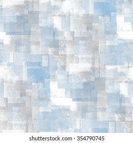 abstract winter background - watercolor seamless pattern