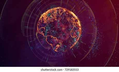 Abstract World, 3D Render