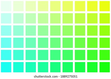 Abstract yellow green checkered background for design.