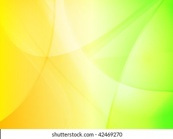 Abstract yellow to green gradient background