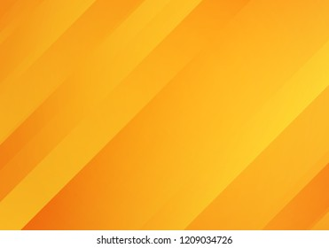 Abstract Yellow and Orange Colored Background with Diagonal Stripes. Geometric Minimal Pattern. Modern Sleek Texture