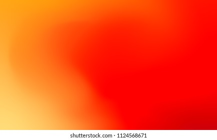 Abstract yellow orange and red soft cloud background in pastel colorful gradient.