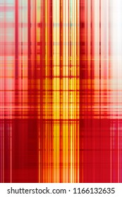 Abstract yellow and red blurred stripes background