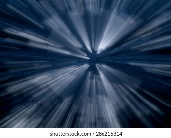 abstract  zoom line white midway color background