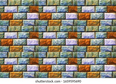 abstraction in the form of an image in 3D format, for use on showcases and Wallpaper, multi-layer plot of the picture structure