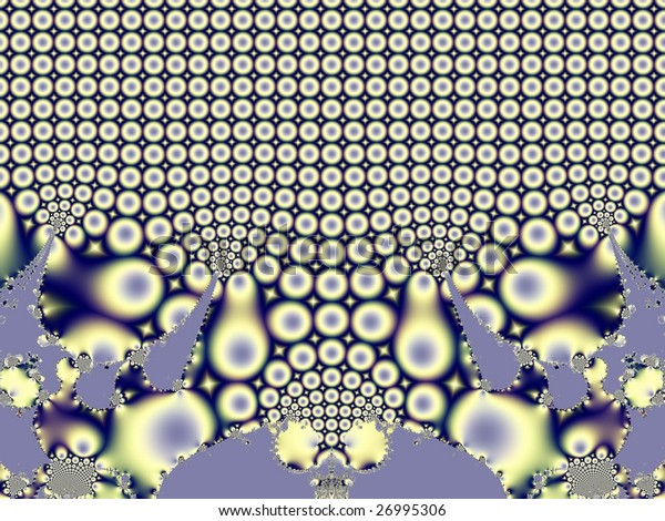abstraction of fractal for background