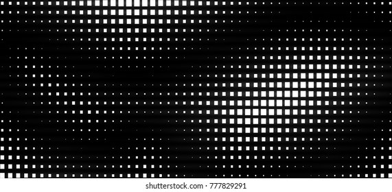 Abstraction pixels black and white - Shutterstock ID 777829291