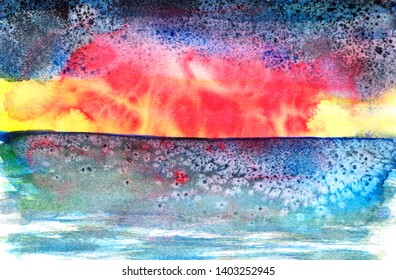 abstrakt colorful background with copy space