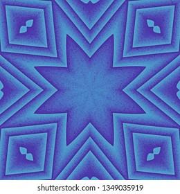Abstrakt octagonal star pattern