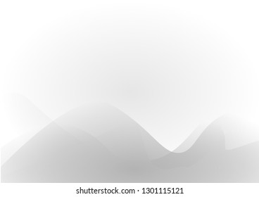 abstrat color background with line curve