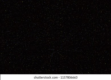 Abstrct Digital Artwork. Background of  Dark Space with a lot of stars. Technologies of fractal graphics and rendering.