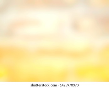 Abtract beautiful blurred concept summer background. Used for advertising design or display product. Food and drink, beauty, cosmetic ads, cover, poster, banner, flyer. Defocused illustration